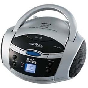 Cd Player Portátil Britânia Bs7 Mp3