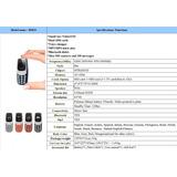 Mini Celular Nokia Dual Sim, Bluetooth, 3 Voces
