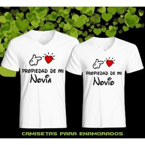 Franelas Personalizadas Novios - Franelas Hombre en Mercado Libre ... b9b1ecb092b5a