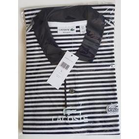 Camisa Polo Lacoste Listrada - Calçados, Roupas e Bolsas no Mercado ... 2b42c80533