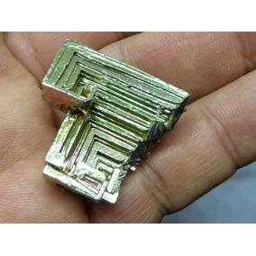 Mineral De Colección Bismuto Cristal De Laboratorio