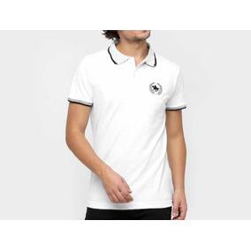 Camisa Polo Rg 518 Gola Poá Masculina - Branco 9f31db44877b2
