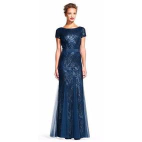 Zapatos para un vestido azul marino largo