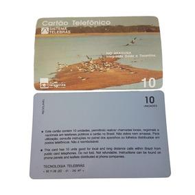 Cartão Telefônico - Rio Araguaia - Telegoiás - Novíssimo!