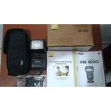 Nikkon Sb-600 Seedlight Flash Para Nikkon Camaras Digital