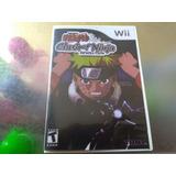 Juego De Wii Original Barato,naruto Clash Of Ninja Revolutio