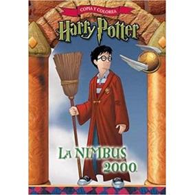 Harry Potter - La Nimbus 2000 - Copia Y Colorea - Sudamerica
