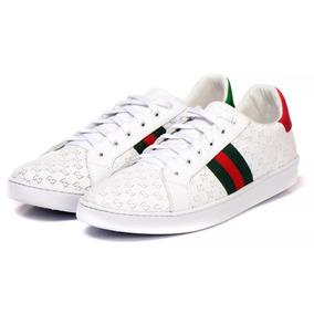Tênis Gucci Abelha Ft Original Feminino & Masculino Promoção