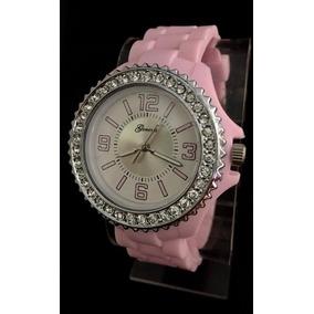 321459d01fd1 Reloj Geneva Mujer Silicona Rosado Calipso Azul Y Mas - Relojes en ...