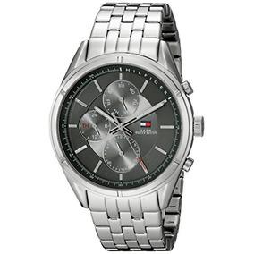 Reloj Tommy Hilfiger 1790858 Análogo Cuarzo Cuero Café - Relojes de ... 77f9f082e7cb