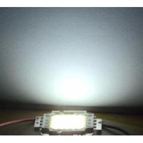10 Chip Led Branco Frio 6000-6500k 10w 9-12v