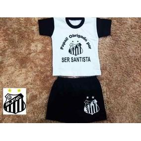 Conjunto Do Santos Bebe - Conjuntos Meninos de Bebê no Mercado Livre ... 0e29be7293707