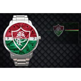 Relógio De Pulso Fluminense Time De Futebol - Joias e Relógios no ... 3dd7f275ca66b