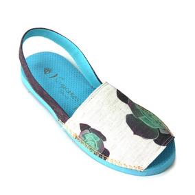 Sandália Avarca Botânica - Cup Shoes