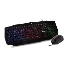 Combo Teclado + Mouse Gamer Battlefire Dazz