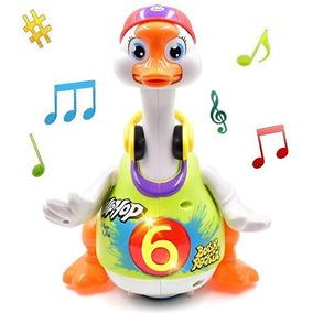 728c8df1f4601 Fu T Bailar Hip Hop Juguete Goose Super Fun Con Música Niños