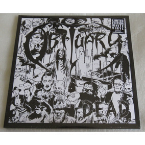Obituary Dead 2lp White Slowly The End Back From World Cause