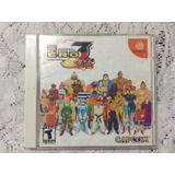 Sega Dreamcast Street Fighter Alpha 3 Japones