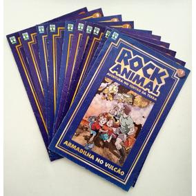 Rock Animal: Aventura No Centro Da Terra Em 10 Volumes