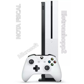 Xbox One S 1tb Slim 4k Nota Fiscal + 2 Meses De Live + Nota