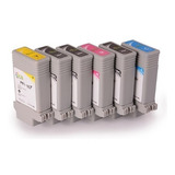 Pack Pfi-107 130ml Tinta De Pigmento Compatible Ipf-670 680