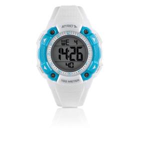 28b83952eca Relógio Digital Feminino Iridium Azul Es098 - Atrio