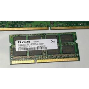 Memoria De Notebook Elpida 2gb Ddr3 1066mhz Pc3-8500