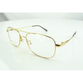 Armação De Óculos Titanium Aviador - Óculos no Mercado Livre Brasil b712b124d8