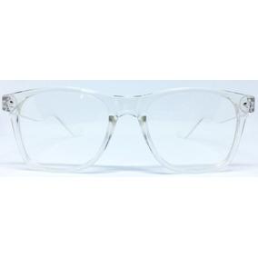 f75e2432d0ee3 Armacao Transparente Quadrada Tiffany - Óculos no Mercado Livre Brasil