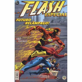 Flash Futuro Relâmpago Mark Waid - Encadernado 160 Páginas