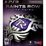 Saints Row The Third Digital Ps3