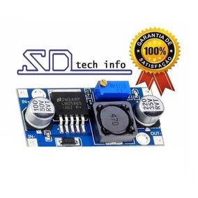 Regulador De Tensão Lm2596s Lm 2596 Dc-dc Step-down