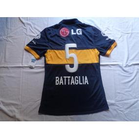 Camiseta De Boca Juniors 2009 Battaglia