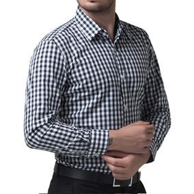 Camisa Xadrez Masculina - Camisa Manga Longa Masculino no Mercado ... dbd80ed2b87d6