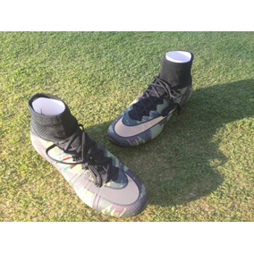 Nike Mercurial - Tacos y Tenis Césped natural Verde musgo de Fútbol ... 94b6b6d950613