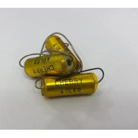 3 Capacitores A Òleo Cherry - 01 Mfd 600vdc