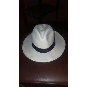 Sombrero Panama Hat Talla M 100% Paja Toquilla Blanco 8aa1e2838c7