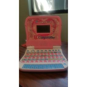 Computadora De Juguete Para Niñas De 4-6 Años (usada)