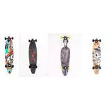 Skate Longboard Clássico Bel 5 Rol + Nota Fiscal E Garantia
