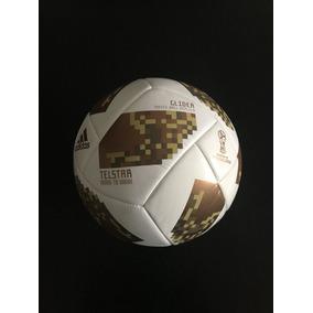 Impresionante Balon Telstar Final Mundial 2018 Dorado Size 5 047cab1fa4026