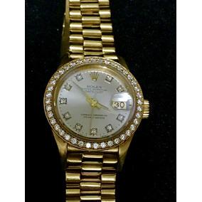 cc70794bbbc Rolex Datejust Cravejado Com Brilhantes - Joias e Relógios no ...