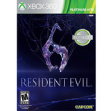 Xbox 360 Juego Resident Evil 6