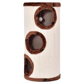 Coffee - 3-agujeros Lindo Gato Torre Juego De Chimenea -2335