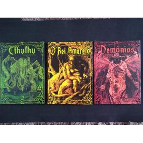 Hqs Rei Amarelo, O Despertar De Cthulhu E Demônios Da Goetia