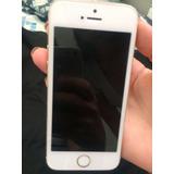 Iphone 5 S, Usado, Pb, Problema Na Bateria E Câmera Frontal