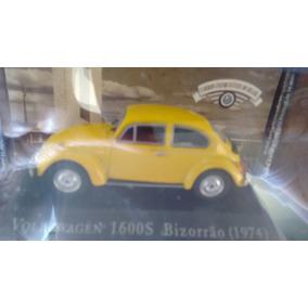 Miniatura Vw Fusca 1600s Bizorrão 1974 (escala 1:43)