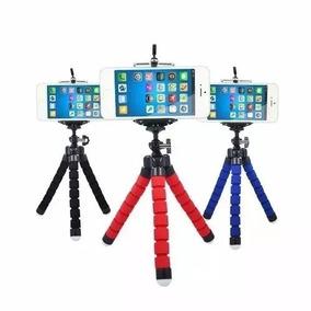Mini Tripé Suporte Flexível Celular Selfie Gravação