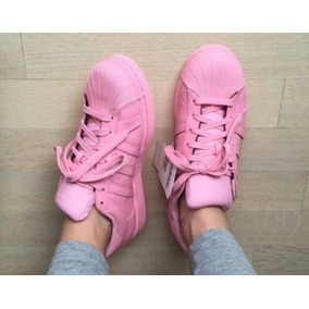 adidas superstar rosados claros