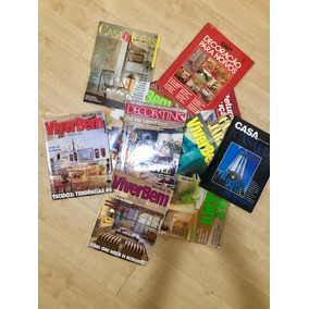 Lote De 11 Revistas De Decoração