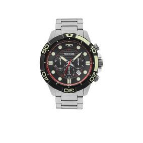 Relógio Technos Acqua Cronógrafo Masculino Js25bp/0p - Prata